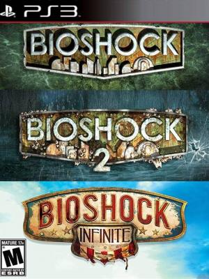 3 JUEGOS EN 1 BIOSHOCK TRILOGY PACK PS3