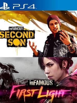 inFAMOUS Second Son + inFAMOUS First Light PS4 PRIMARIA