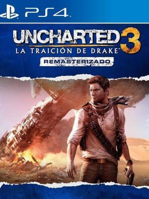Uncharted 3: La traición de Drake remasterizado PS4