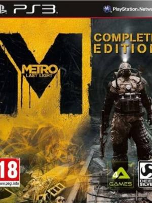 Metro Last Light - Complete Edition PS3