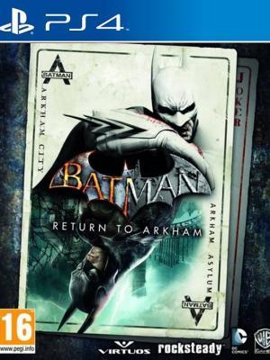2 juegos en 1 Batman: Return to Arkham PS4 PRIMARIA