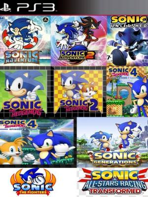 10 JUEGOS EN 1 SONIC COLLECTION PS3
