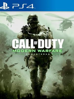 Call of Duty Modern Warfare Remastered  PS4 PRIMARIA