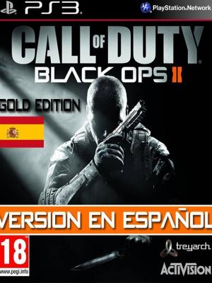 Call of Duty Black Ops II Gold Edition PS3 FULL ESPAÑOL