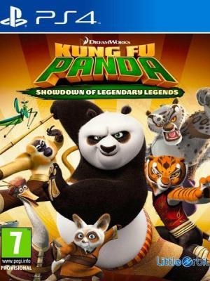 Kung Fu Panda Confrontación de Leyendas Legendarias PS4