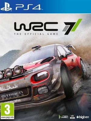 WRC 7 FIA World Rally Championship PS4 PRIMARIA