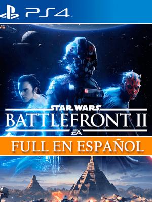 STAR WARS Battlefront II Standard Edition  ESPAÑOL ps4  PRIMARIA