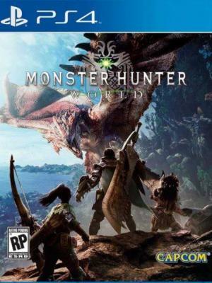 MONSTER HUNTER: WORLD PS4 PRIMARIA