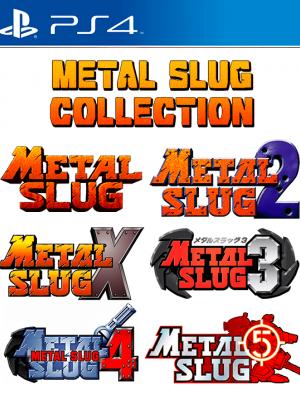 6 JUEGOS EN 1 METAL SLUG COLLECTION PS4
