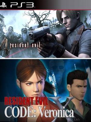 2 juegos en 1 Resident Evil 4 +  Resident Evil Code Veronica X01 en Español
