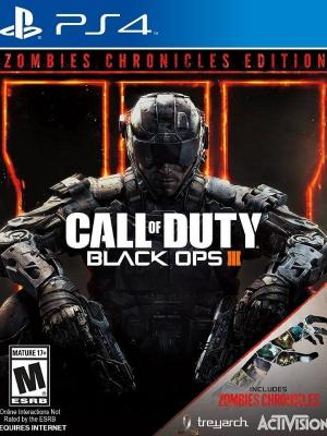 Call of Duty Black Ops III MAS DLC Zombies Chronicles PS4 PRIMARIA