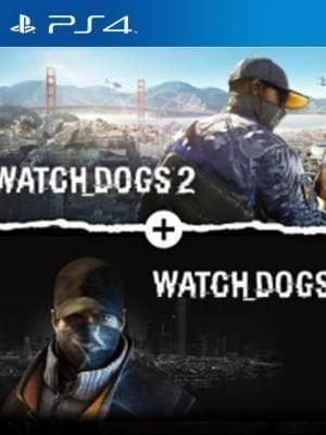 Watch Dogs 1 + Watch Dogs 2 Standard Editions Bundle PS4 PRIMARIA