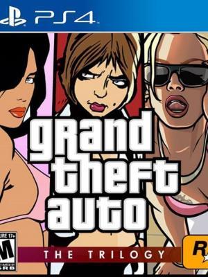 3 juegos en 1 Grand Theft Auto(GTA): The Trilogy PS4