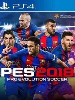 Pro Evolution Soccer 2018  Ps4 Primaria.