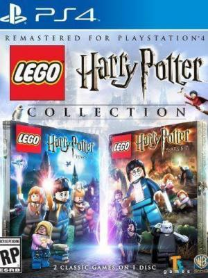 2 juegos en 1  LEGO Harry Potter: Years 1-4  +  LEGO Harry Potter: Years 5-7  PS4