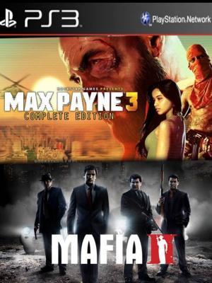 2 juegos en 1 Max Payne 3 Complete mas Mafia II ps3