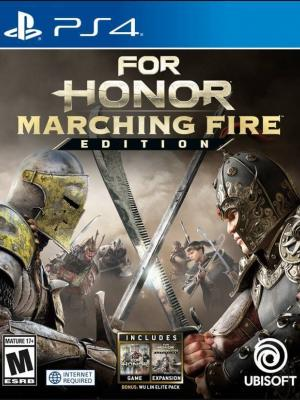 FOR HONOR MARCHING FIRE EDITION PS4 PRIMARIA