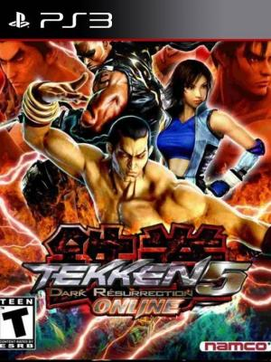 Tekken 5 Dark Resurrection Online PS3