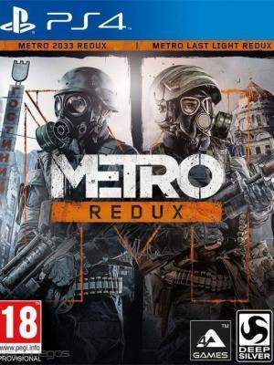 2 juegos en 1 Metro Redux ps4