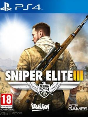 Sniper Elite 3 ps4 primaria