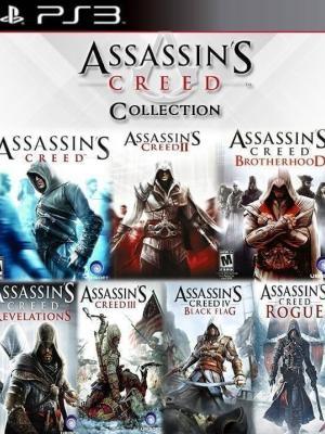 7 JUEGOS EN 1 ASSASSIN'S CREED COLLECTION PS3
