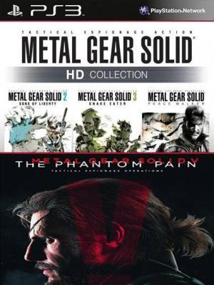 4 juegos en 1 Metal Gear Solid HD Collection Mas Metal Gear Solid V: The Phantom Pain PS3