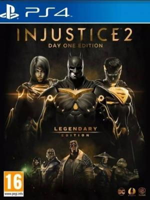 Injustice 2 Legendary Edition Ps4 Primaria